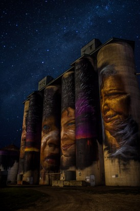 Sheep Hills Silo Art Wimmera Mallee: I grew up in Warracknabeal which had its 150 year anniversary on the queens ...