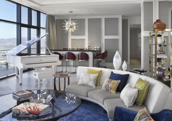 Take A Look Inside The New Milliondollar Suites At Las Vegas Mesmerizing 3 Bedroom Penthouses In Las Vegas Ideas Collection