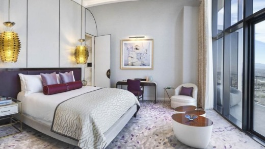 The Cosmopolitan eschew's the gimmicks of themed decor so common on the Strip, preferring an aesthetic that befits its ...