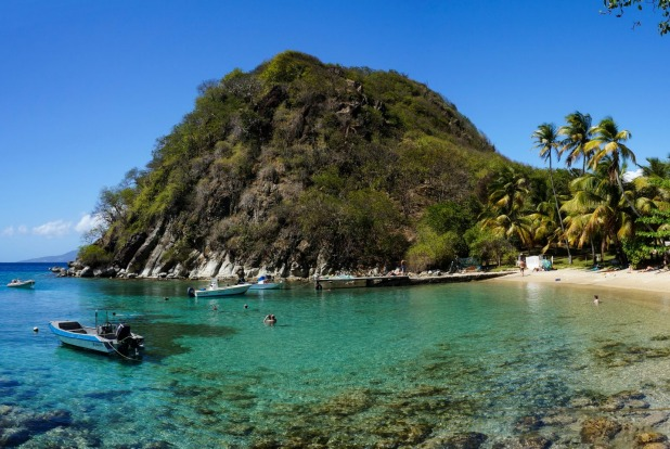 Les Saintes, Guadeloupe: An eight-island dependency of the French overseas territory of Guadaloupe in the Leeway ...