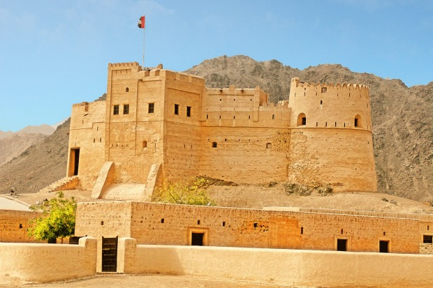 Fujairah: The easternmost of the United Arab Emirates and the only one on the Oman Gulf, slow-paced, beach-flanked ...