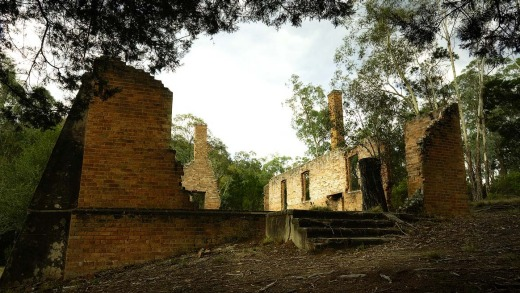 Remote ruins in the Southern Highlands.