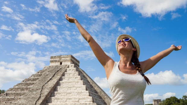 Chichen Itza, Mexico: Independent travel can give you a whole new sense of yourself.