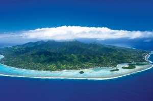 Rarotonga is surrounded by a camera-friendly lagoon and takes about an hour to drive around.