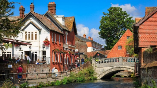 "Winchester, an ancient city of Roman descent that Austen visited occasionally (""she didn't just come here when she was ..."