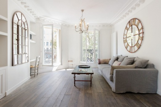 Filles du Calvaire3 apartment For Paris Marais apartments story by Nina Karnikowski Photo: Apartments Actually ...