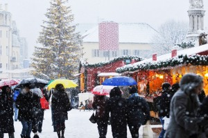 Christmas markets in Bolzano.