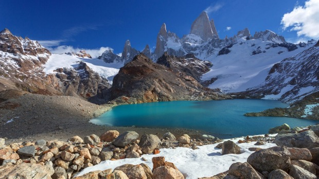 Monte Fitz Roy ... celebrate the end of the world at the end of the Earth.