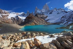 The end of the Earth: Monte Fitz Roy in Patagonia.
