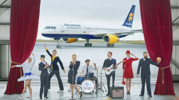 The airline is offering an 'immersive' in-flight performance, among other cultural experiences, as part of its 80th ...