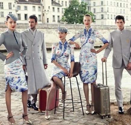 1b19e9ea6d8 Memorable airline uniforms  China s Hainan Airlines chose Paris-based  Lawrence Xu to design a