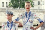 Memorable airline uniforms: China's Hainan Airlines chose Paris-based Lawrence Xu to design a sleek, svelte style for ...