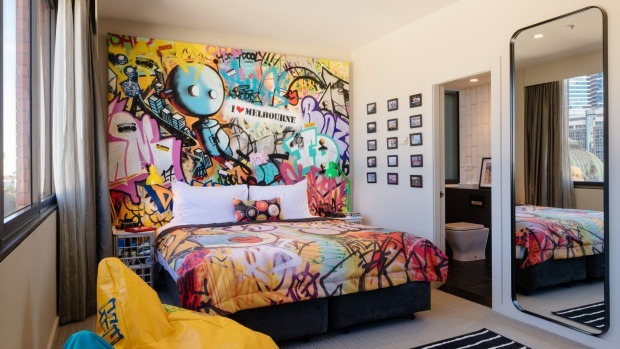 Hilton S Graffiti Loft Brings Melbourne S Laneways To