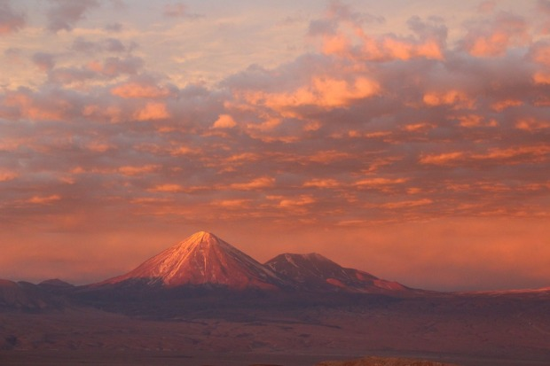 """This photograph was taken in June 2017 near San Pedro de Atacama, Chile.""""The southern border from Bolivia was closed due ..."""