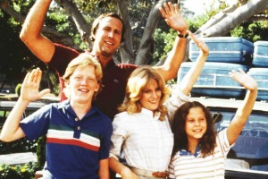 The Griswalds in National Lampoon's Vacation.