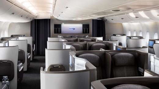 British Airways A380 Club World.