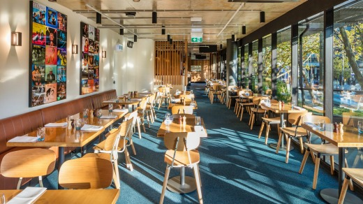 Melbourne's Jazz Corner Hotel opened on its William Street site just over a year ago.