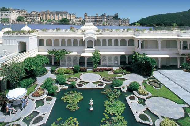 Taj Lake Palace, Udaipur, India: Where else in the world can you sleep in a floating palace? From the opulent suites and ...