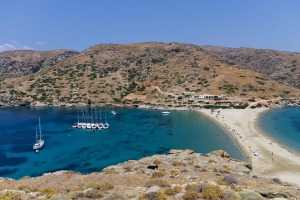 The respect and generosity of Greek people stood out during an island-hopping adventure in the Cyclades.