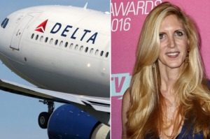 Delta Air Lines and Ann Coulter