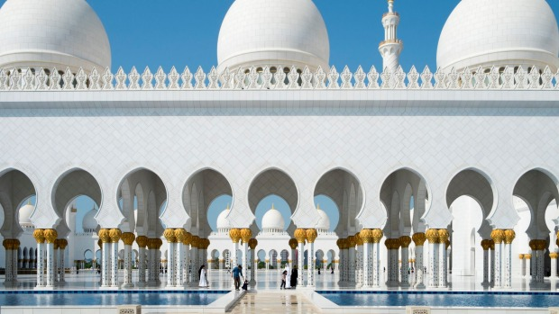 Don't miss the Sheikh Zayed Grand Mosque in Abu Dhabi.