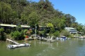 An isolated hamlet of the Hawkesbury River that can be reached only by boat.