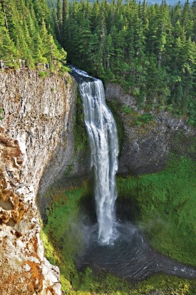 Salt Creek Falls, the second highest in Oregon.