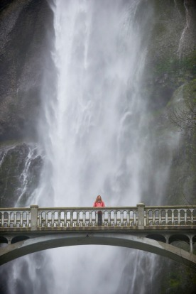 Multnomah Falls, Columbia River Gorge.