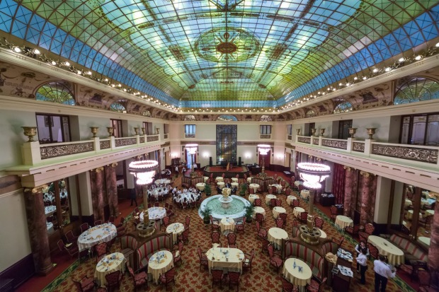 Hotel Metopol, Moscow: After the Russian Revolution, the Bolsheviks moved the government from St Petersburg to Moscow, ...