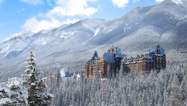 Fairmont Banff Springs, Canada: Lost the Christmas spirit? Get thee here, stat. This opulent 1888 Scottish baronial ...