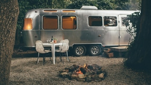 These silver bullet Airstream trailers offer the best of both worlds.