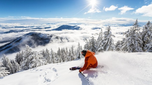Red Mountain Resort is home to some of North America's best steep slopes and tree runs.