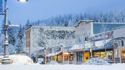 Rossland during the 1890s gold rush was one of Canada's biggest towns.