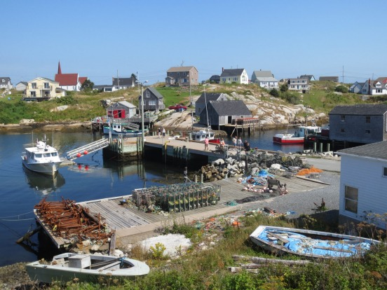 Peggy's Cove - named after the sole survivor of a shipwreck when a Schooner ran aground in the 1800's during a terrible ...