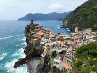 Memories of a big day walking the Cinque Terre.