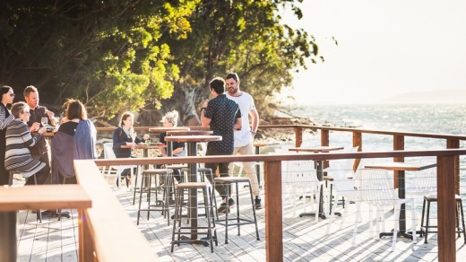There are plenty of cafe and restaurant options in Port Stephens in the winter.