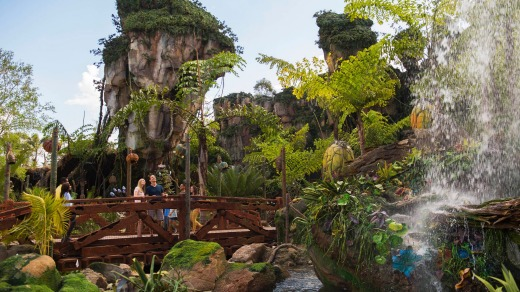 Pandora's box brings a variety of experiences to the park, including the Na'vi River Journey attraction.