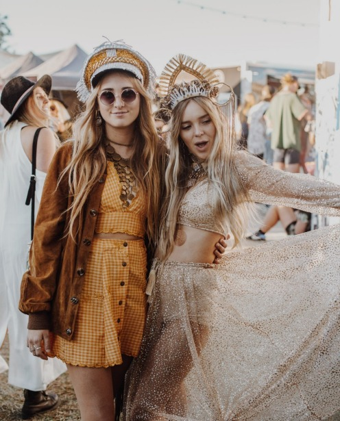 Fashion at Splendour in the Grass 2017.