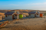 Desert Breeze Lodge in Swakopmund, Namibia: This Namibian Desert retreat sits in isolation above the Swakop River, ...