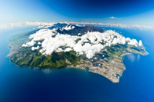 Reunion Island: A record-breaking speck in the Indian Ocean.
