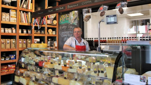 Paul Broughton from the wonderful C'est Cheese in Featherston.