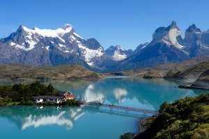 A beautiful sunny day in Chilean Patagonia and I came over the crest of the hill to see Lake Pehoe in all its glory and ...