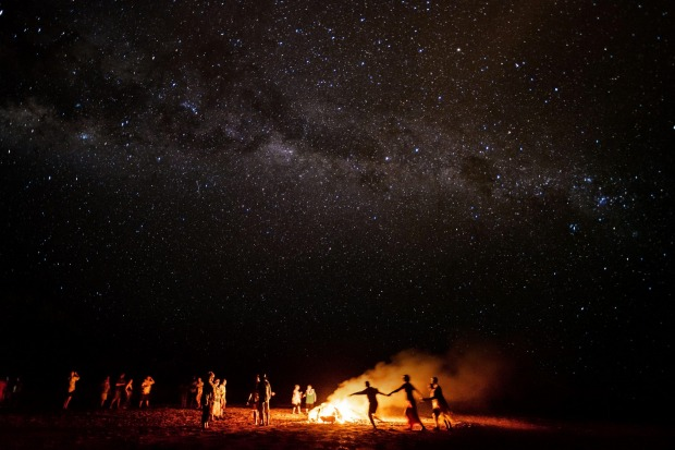 Deep in the heart of the Kimberley with Eco Abrolhos cruises we watched the sun set and milky-way emerge over the ...