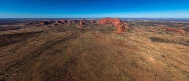 Kata Tjuta / The Olgas - taken from a helicopter during a recent visit.