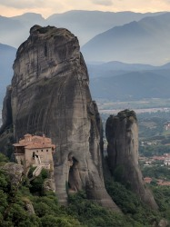 There's nothing like Meteroa in Greece, it is truly spectacular and awe inspiring. The pillar like mountains that hold ...
