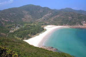 You don't need to travel far from central Hong Kong to find enticing beaches.