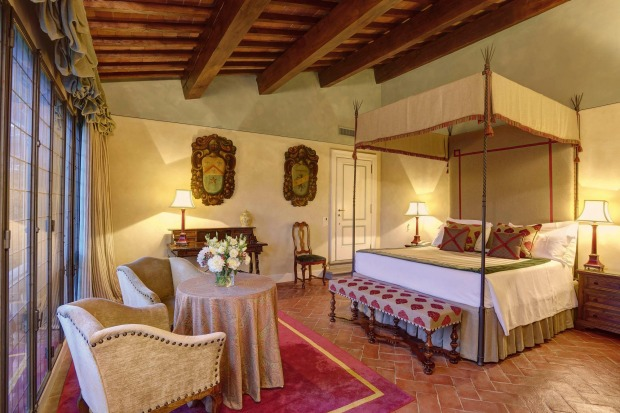 Villa La Massa, Florence  Sitting right on the Arno River outside Florence, this 16th-century villa and its ...