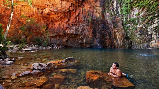 There are plenty of gorges and waterholes to explore.