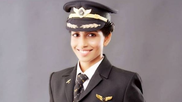 Anny Divya is the world's youngest female commander of a Boeing 777.