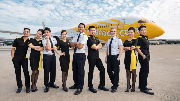 Scoot Airline.